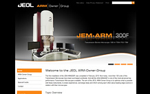 External link to Website www.jeol-arm.eu