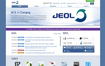 External link to website www.jeol.com