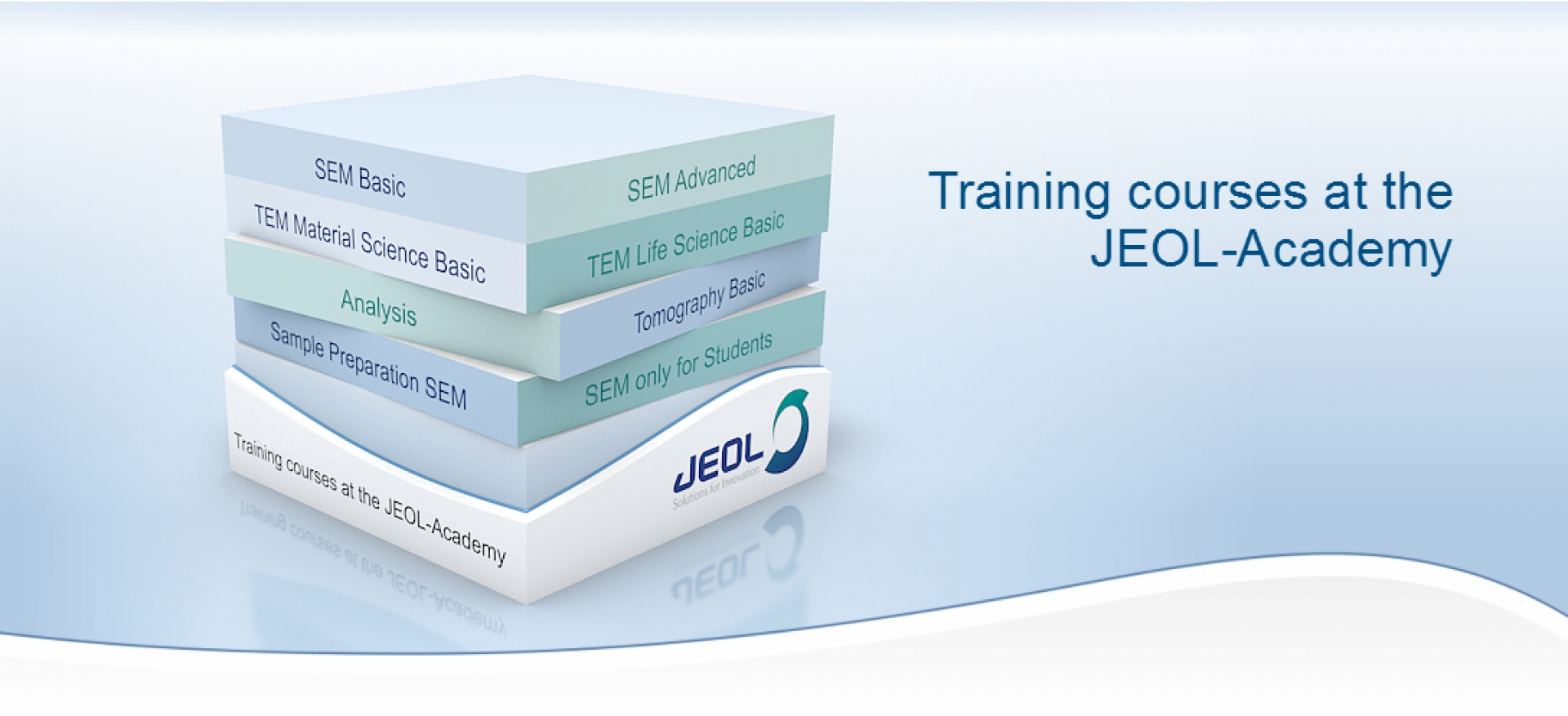 Training courses at the JEOL-Academy