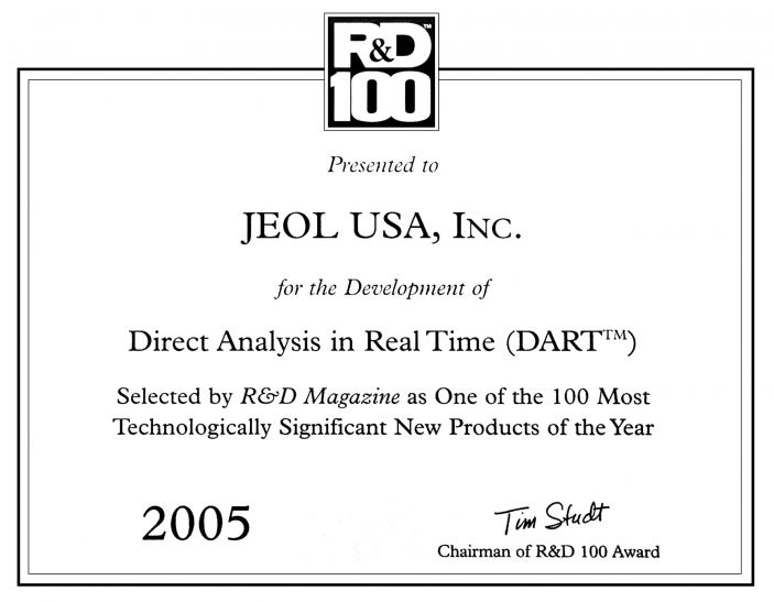 DART® wins the R&D 100 award